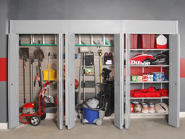 Garagens e arrecadações - dicas de arrumação: suportes de teto