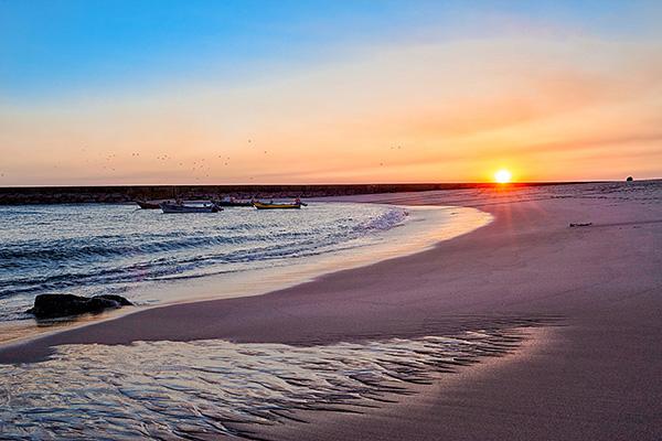 Lindas praias no norte de Portugal - Praia da Aguda, Vila Nova de Gaia