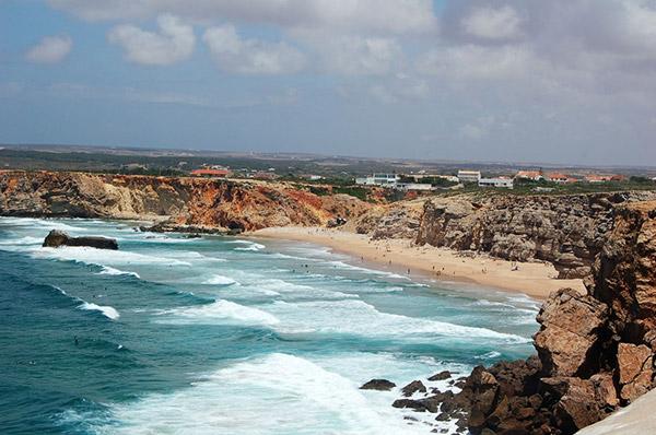 Praias do sul de Portugal - Praia do Tonel, Sagres