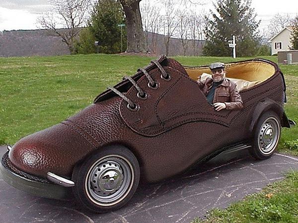 Carros completamente loucos - Carro sapato