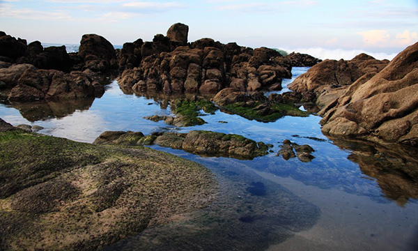 Lindas praias no norte de Portugal - Praia da Agudela, Matosinhos