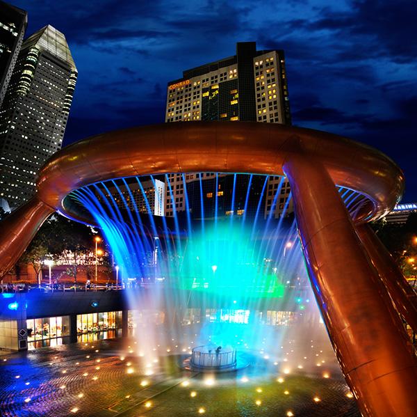 As mais belas fontes do mundo: Fonte da Fortuna – Suntec City, Singapura