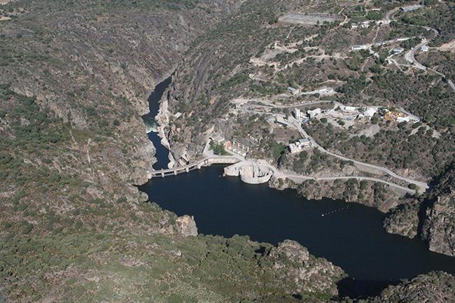 Barragens portuguesas - Barragem de Picote