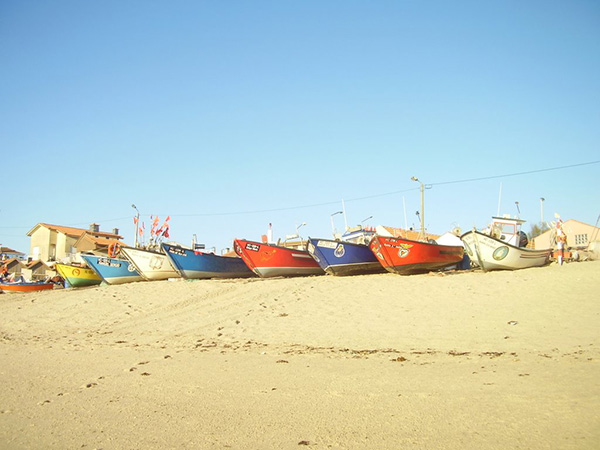 Lindas praias no norte de Portugal - Praia de Vila Chã, Vila do Conde