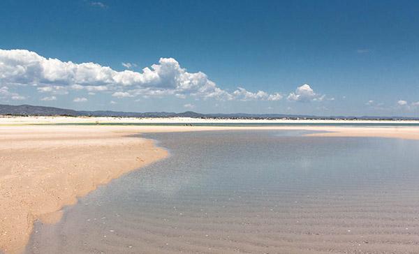 Praias do sul de Portugal - Praia da Ilha da Armona, Olhão