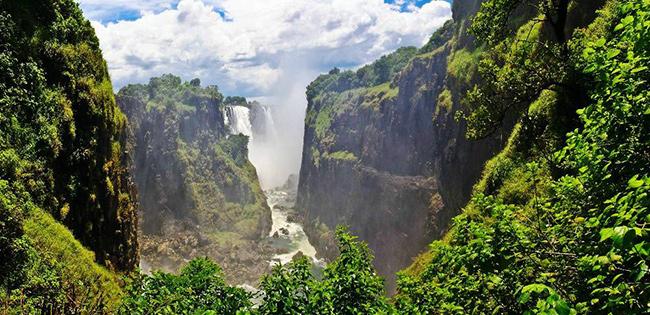 Os rios mais bonitos do mundo - Rio Zambeze (África)