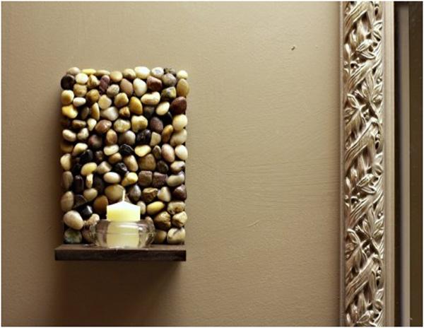 Decoração com Pedras e Seixos, 11 ideias sem custos - quadros