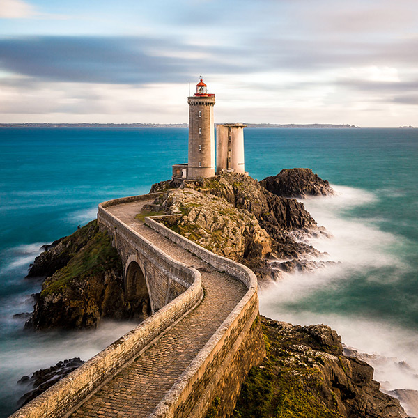 Faróis de sonho: Farol du Petit Minou – Brest, França