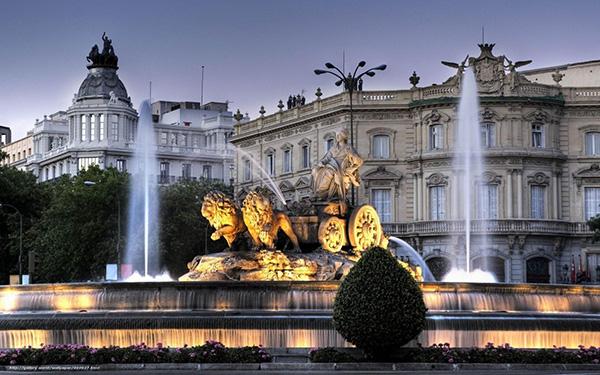 As mais belas fontes do mundo: Fonte de Cibeles – Madrid, Espanha