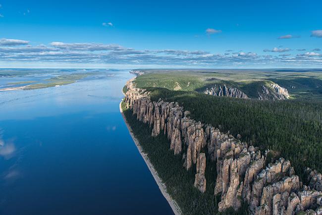 Os rios mais bonitos do mundo - Rio Lena, Rússia