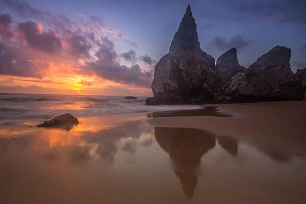 As mais belas praias de Portugal - Praia da Ursa, Sintra
