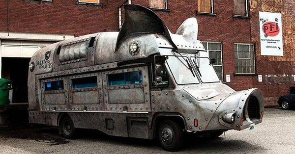 Carros completamente loucos - Caravana Porco