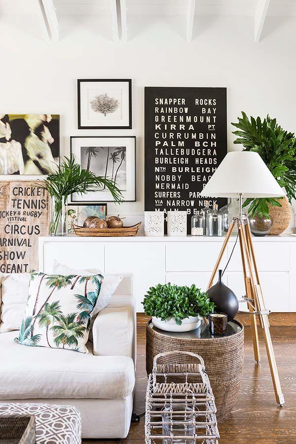 Dicas de decoração vintage e retro - toque tropical