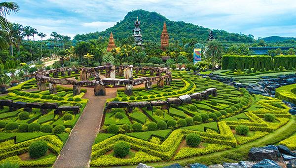 Maravilhas do mundo, jardins de sonho: Jardim Tropical e botânico Nong Nooch – Tailândia