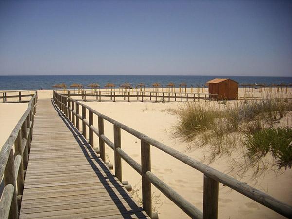 Praias do sul de Portugal - Praia de Alagoa, Altura