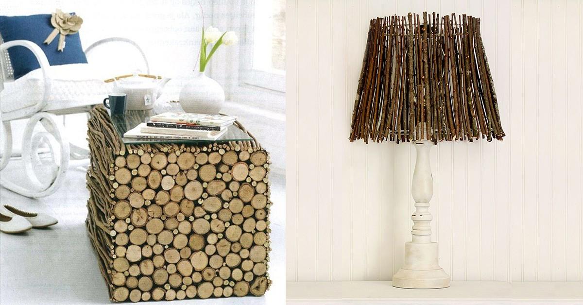 Dicas de decoração e bricolage em madeira