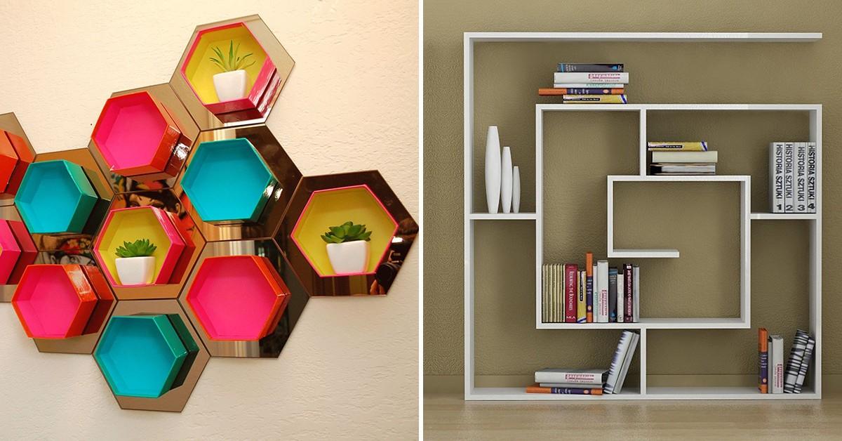 Dicas de decoração: 10 estantes espectaculares