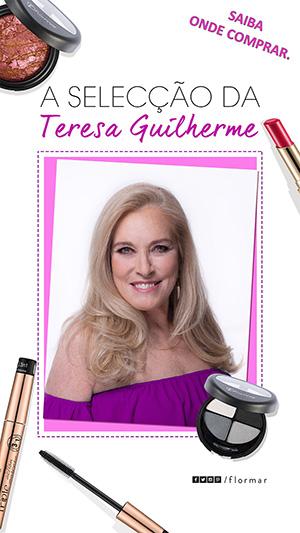 """Flormar onde comprar """"A Selecção da Teresa Guilherme"""" banner"""