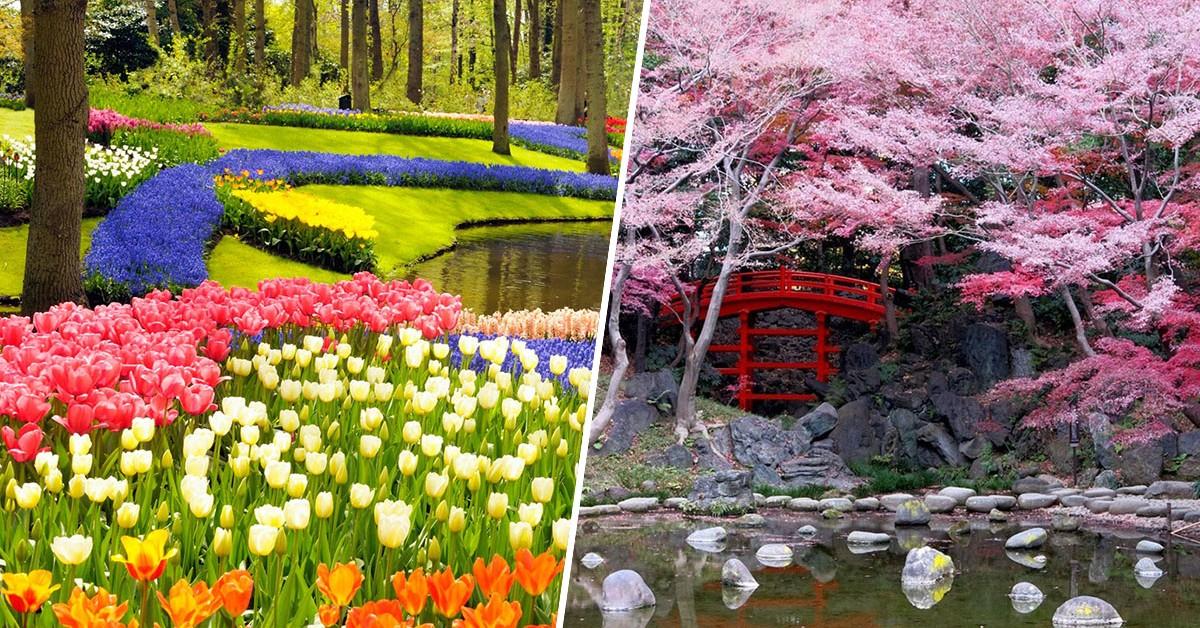 Maravilhas do nosso mundo – 9 jardins de sonho