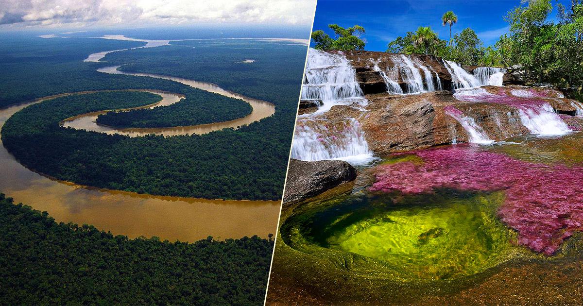 10 dos rios mais bonitos do mundo