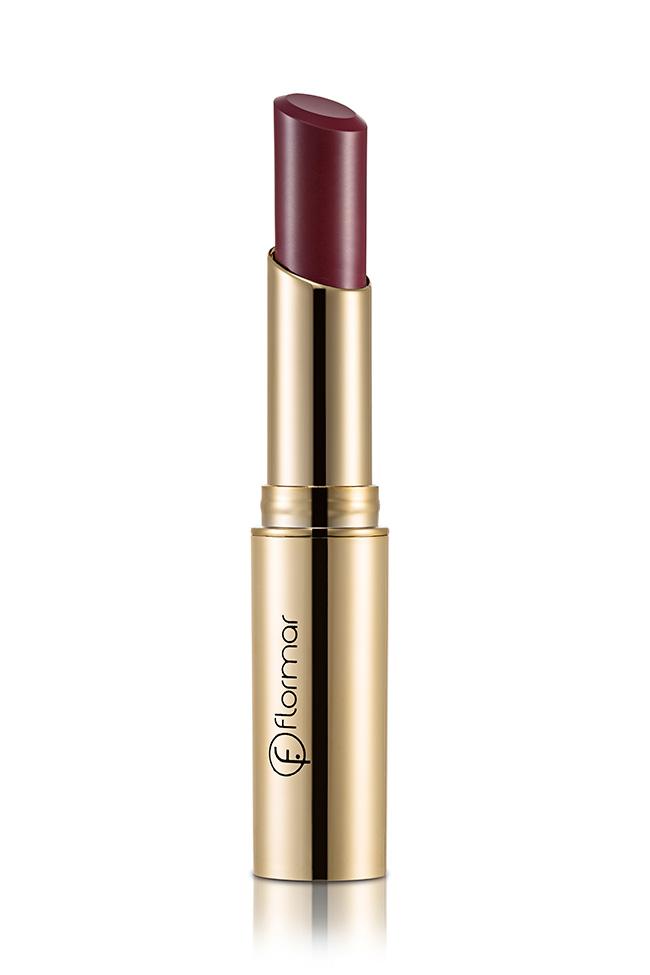 Teresa Guilherme, batom Flormar - Deluxe Cashmere Lipstick DC27