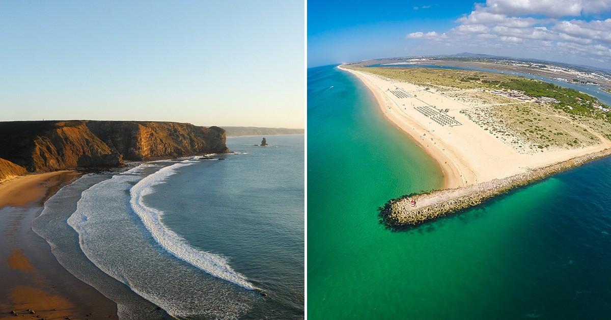 10 praias do sul de Portugal que tem de conhecer