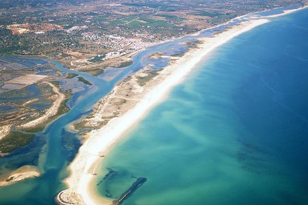 Praias do sul de Portugal - Praia de Cabanas, Tavira