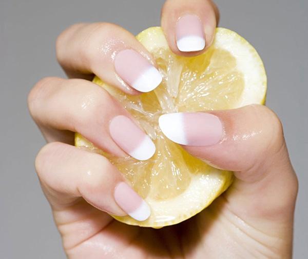 Usos surpreendentes do limão - clareador de unhas