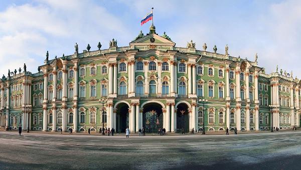 Palácios imponentes - Palácio de Inverno ou de Hermitage – S. Petersburgo, Rússia