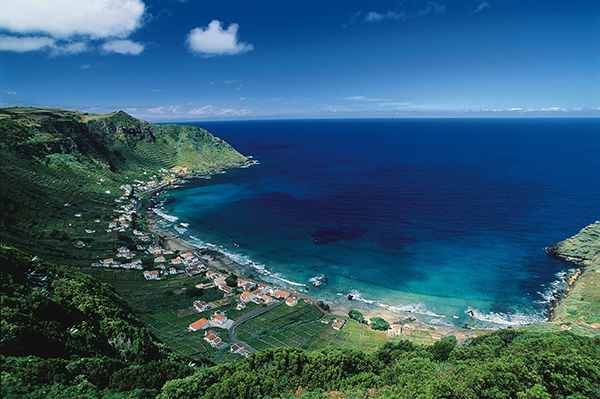 Praias dos Açores - Praia de S. Lourenço, Ilha de Santa Maria