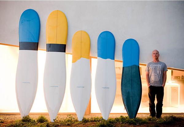 10 pranchas de surf originais - pranchas reinventadas