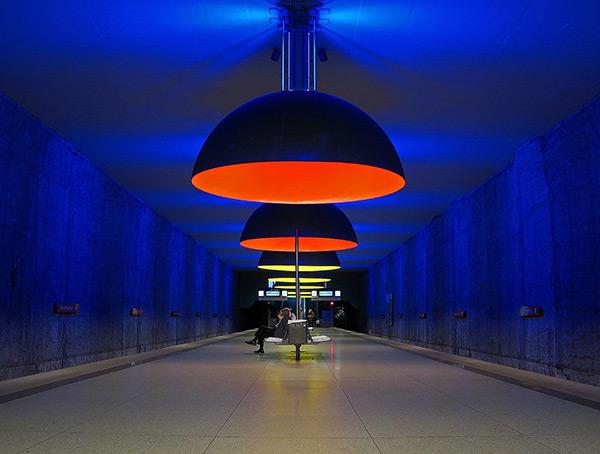 As mais belas estações do mundo - Estação de metro Westfriedhof, Munique – Alemanha