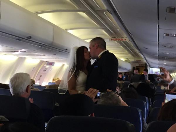Casamentos mais originais de sempre - casamento num avião