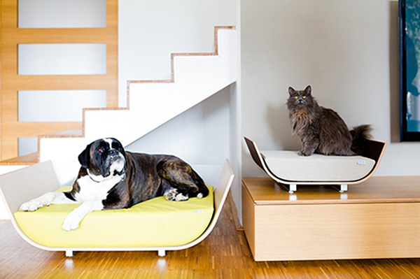 Casas amorosas para animais de estimação - camas elegantes para cão e gato