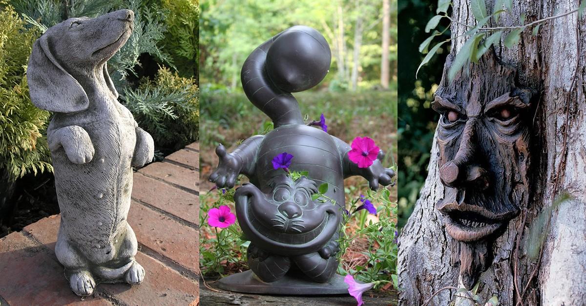 10 esculturas para jardim que impressionam