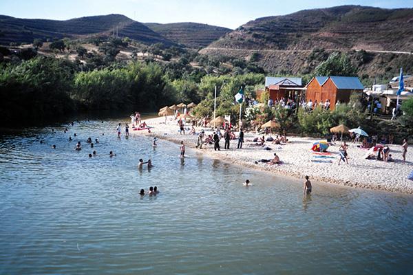 Praias fluviais de Portugal - PEGO DO FUNDO, ALCOUTIM
