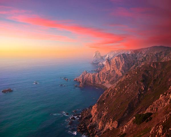 Cabos deslumbrantes de Portugal - CABO DA ROCA, Sintra