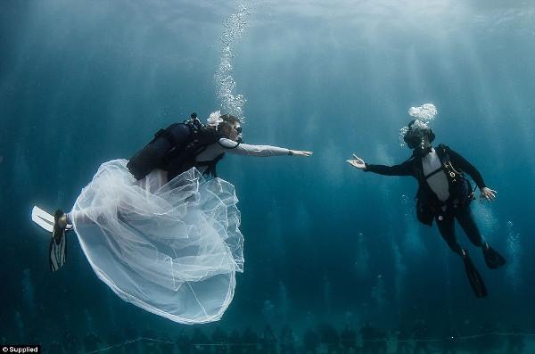 Casamentos mais originais de sempre - casamento debaixo de água