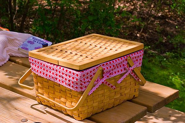 Um piquenique perfeito - preveja a forma de transportar a comida