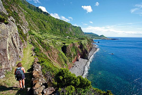 Praias dos Açores - Fajã da Caldeira de Santo Cristo, Ilha de São Jorge