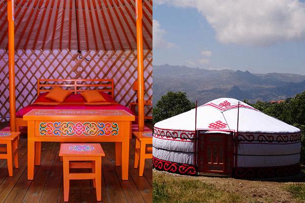 Glamping - acampar com conforto: Gerês