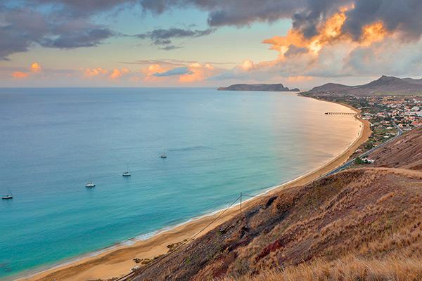 Praias do arquipélago da Madeira - Praia do Porto Santo – Ilha de Porto Santo