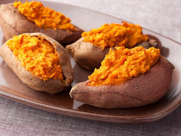 Benefícios da batata doce - É UM CALMANTE PARA O ESTÔMAGO