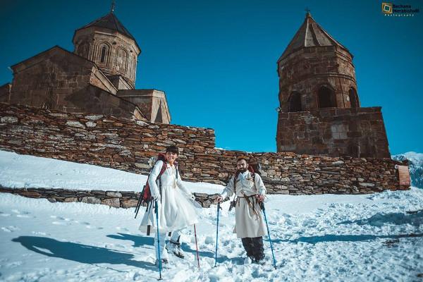 Casamentos mais originais de sempre - casamento a 4000 metros acima do nível do mar