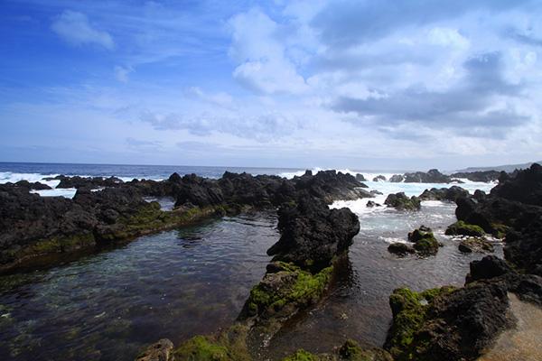 Praias dos Açores - Piscinas naturais dos Biscoitos, Ilha Terceira