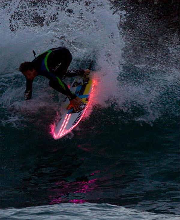 10 pranchas de surf originais - prancha de surf com luz