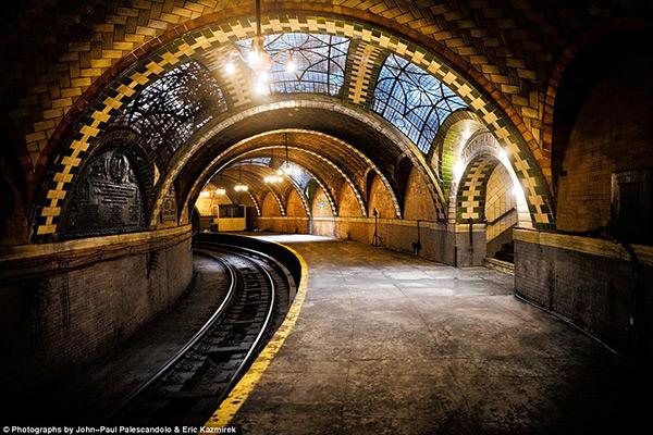 As mais belas estações do mundo - Estação de metro City Hall, Nova Iorque – EUA