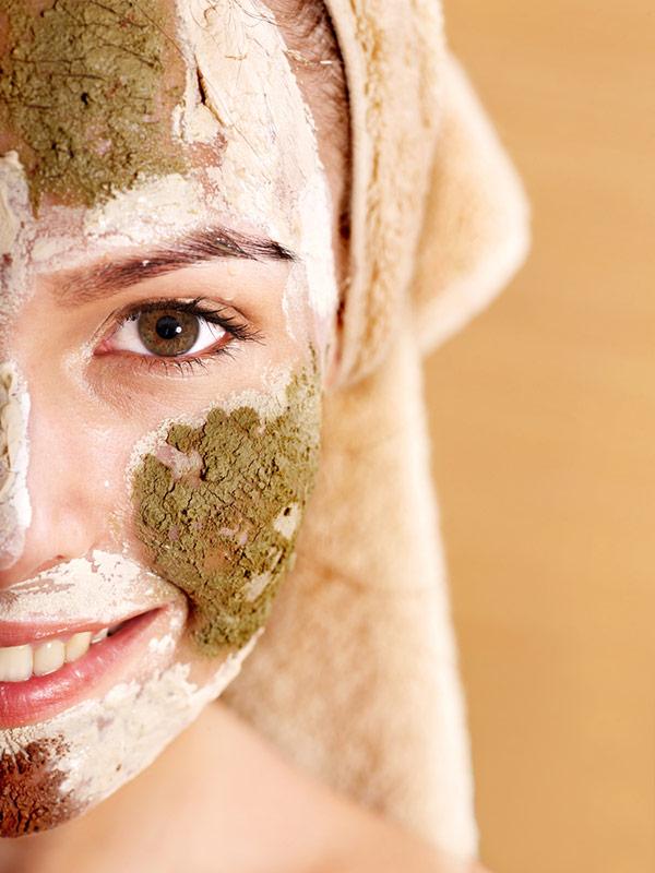 Benefícios da argila - combate a oleosidade da pele e cabelo