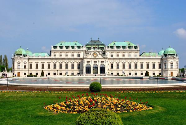 Palácios imponentes - Palácio de Belvedere – Viena, Áustria