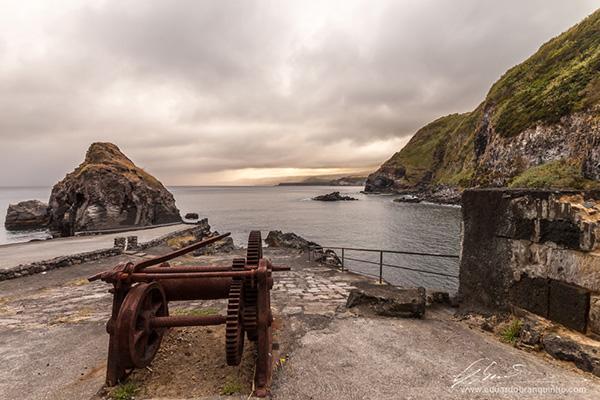 Praias dos Açores - Praia Baixa da Ribeirinha, Ilha do Pico